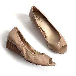 Cole Haan Shoes - Cole Haan Peep Toe Wedge
